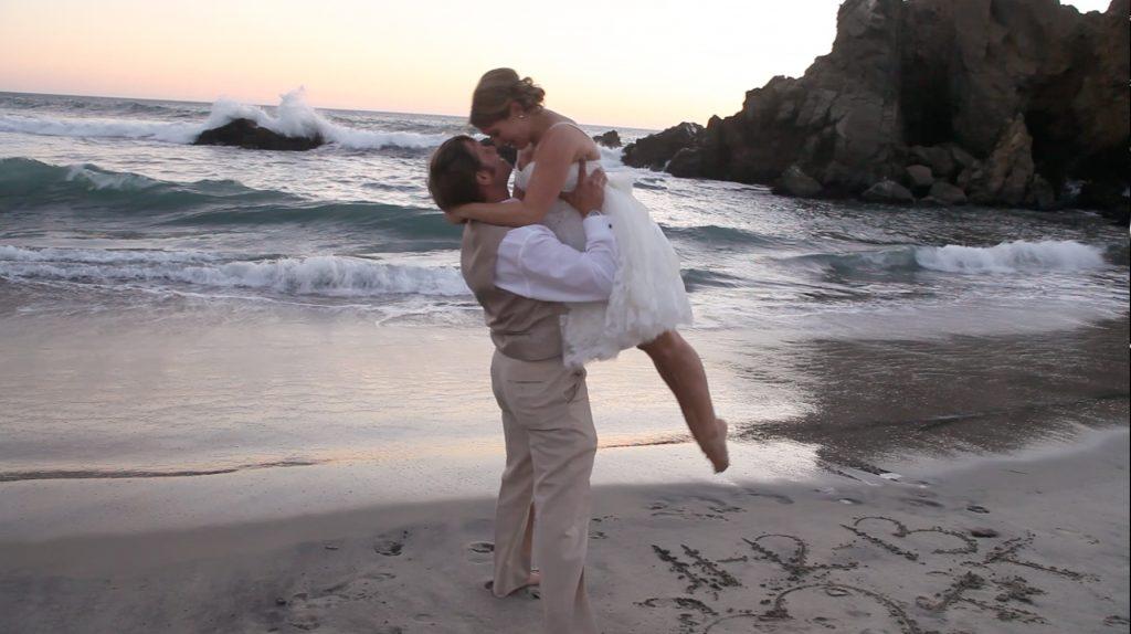 lift bride ocean