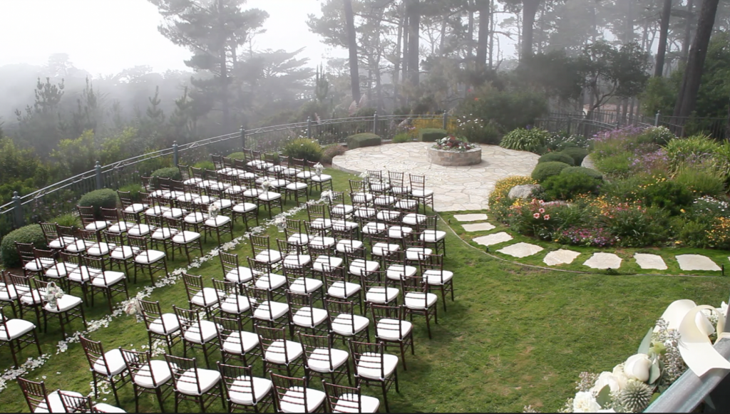 Pebble ceremony fog